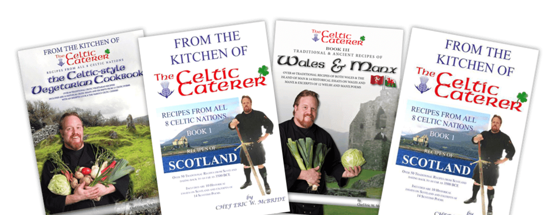 Celtic Caterer Cookbooks