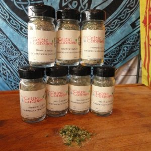 Breton Wild Mushroom Seasoning created by the Celtic Caterer Eric McBride