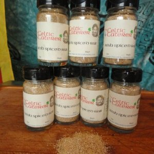 Irish Spice Rub created by the Celtic Caterer Eric McBride