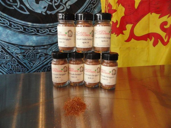 Scottish Haggis Spice created by the Celtic Caterer Eric McBride
